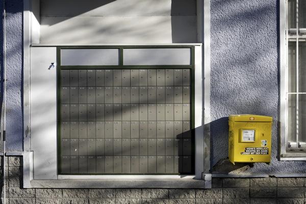 Die Post am Wiener Westbahnhof