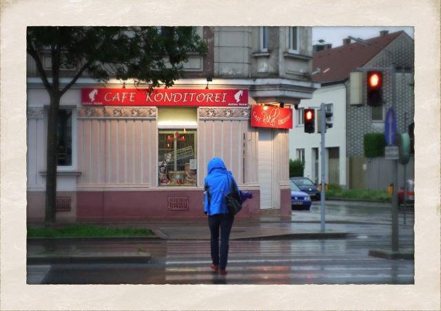 Regenwetter in Wien